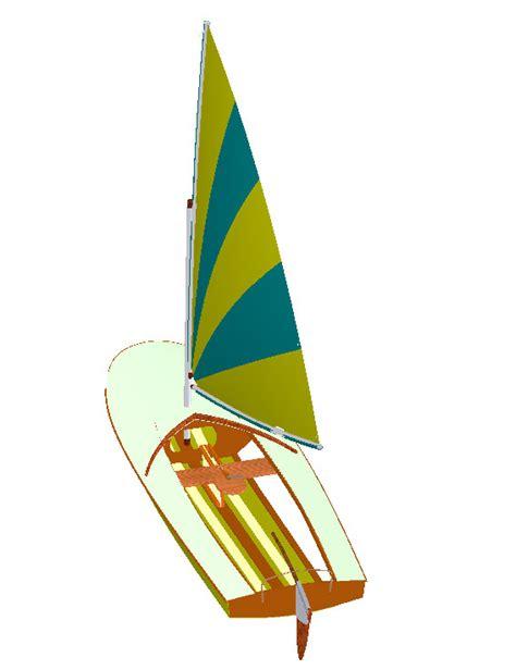 clic clac light dinghy design papillon sail dinghy boat plan