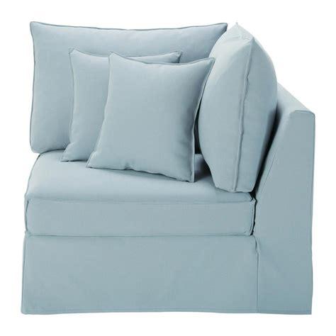 canape angle bleu angle de canapé bleu gris enzo maisons du monde