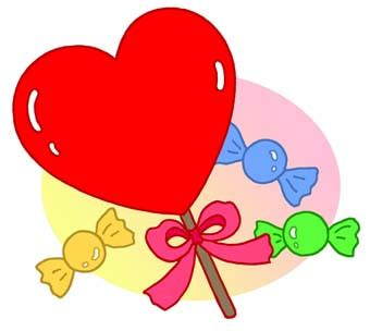 Valentine's Day Candy Heart Clip Art