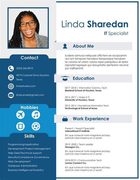 Professional Resume Layout Exles by 8 Professional Resume Templates Pdf Doc Free