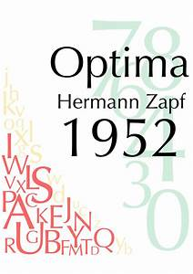 1000+ images about Optima / Hermann Zapf on Pinterest