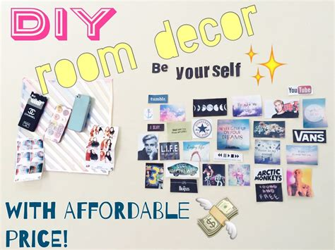 diy room decor tumblr inspired indonesia home