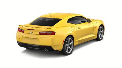 mcallen bright yellow  chevrolet camaro certified car