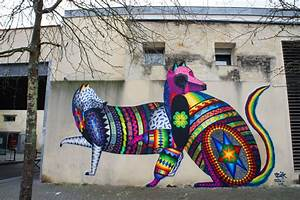 Street Art Bordeaux : dope work by spaik los extranjeros project by street ~ Farleysfitness.com Idées de Décoration