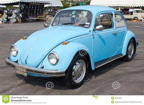 Volkswagen Beetle Retro Vintage Car Editorial Photography