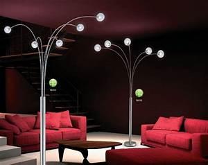 Lampe Design Sur Pied : lampe de salon sur pied moderne lampadaire contemporain pas cher studioneo ~ Teatrodelosmanantiales.com Idées de Décoration