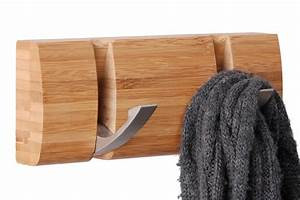 Haken Für Kleiderstange : wandgarderobe bambus kleiderhaken garderobe hakenleiste handtuchhalter haken neu ebay ~ Frokenaadalensverden.com Haus und Dekorationen