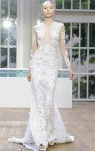 julien macdonald bridal ss15 collection chwv With julien macdonald wedding dress