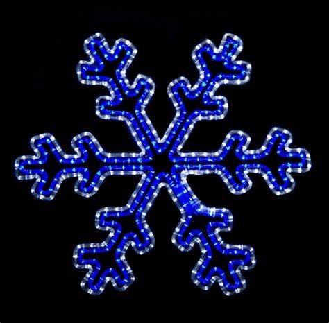 snowflakes stars  blue  white led snowflake