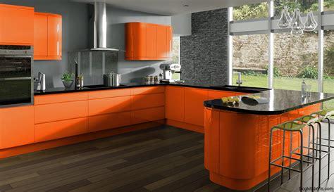 orange kitchens ideas modern orange kitchens kitchen design ideas