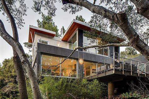frank lloyd wright style house plans cool californian home offers exquisite views and serenity