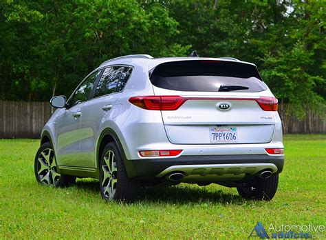 Kia Sx by 2017 Kia Sportage Sx Turbo Awd Review Test Drive A