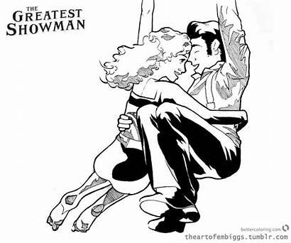 Showman Greatest Coloring Anne Wheeler Fan Printable