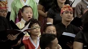 GKI Youth Choir Feat. Catholic Music Children Choir Korea ...