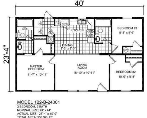 B24001 Multi Sectional Ranch
