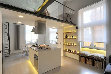 refurbished industrial loft apartment  rome idesignarch interior design architecture interior decorating emagazine
