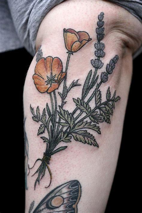 beautiful botanical tattoos  salem witch descendant