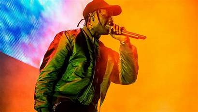 Travis Scott Background Singing Colorful 1080 Wallpapers