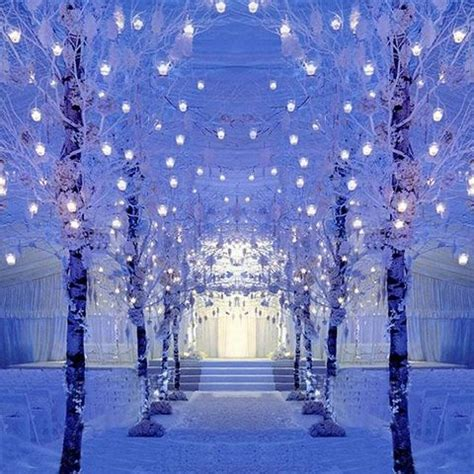60 Adorable Winter Wonderland Wedding Ideas Happyweddcom