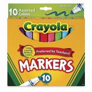 Crayola Classic Colors Markers - BLICK art materials