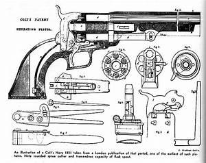 Early Colt Revolver Diagrams