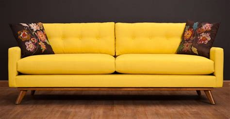 17 Best Images About Yellow Sofa On Pinterest