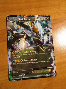PL Pokemon BLACK KYUREM EX Card LEGENDARY TREASURES Set ...