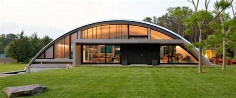 arching airplane homes arc house