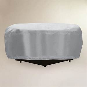 Outdoor fire pit cover world market for Outdoor furniture covers world market