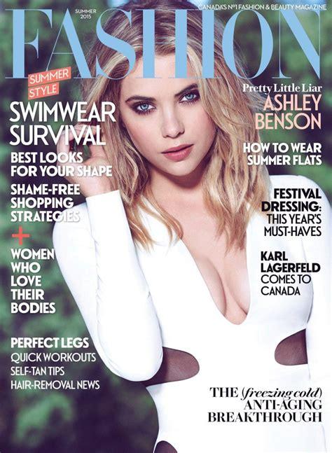 fashion magazine summer 2015 cover ashley benson
