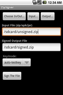 How To Sign Updatezip Files And Apk On Android Devices