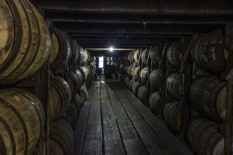 barrels  whiskey   cellar  buffalo trace