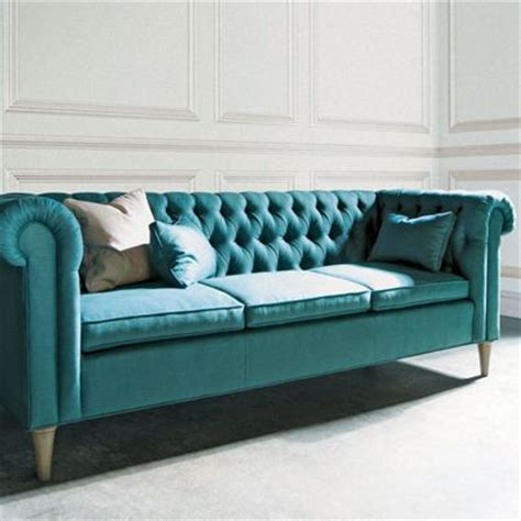 Teal Tufted Sofa by Teal Sofa With Panel Decor Sofas Chairs