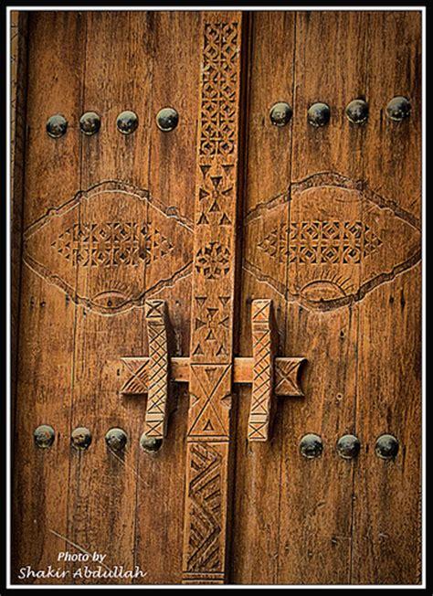 Traditional door from the Gulf - باب تراثي خليجي | Shakir ...