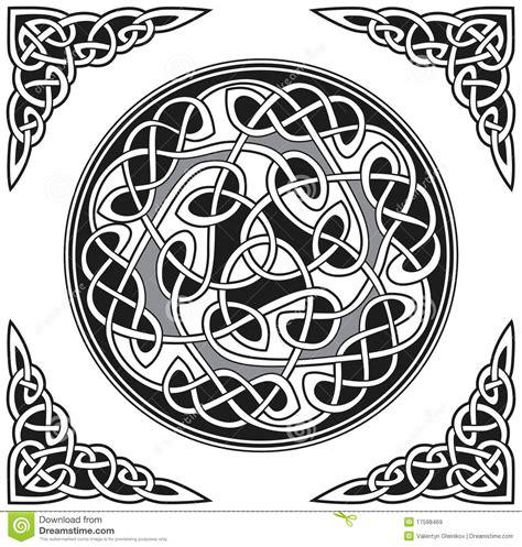 Vector Celtic Design Element Stock Vector - Illustration ...