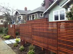 Diy Privacy Fence Idea The Dramatic Fence Designs For Your Front Yard