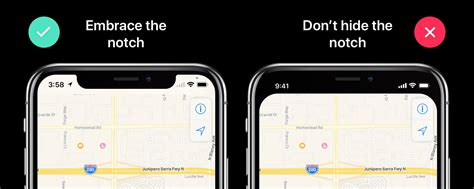 template to avoid the iphone x notch in your custom