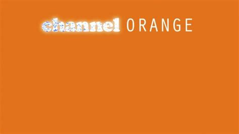 Channel Orange Wallpaper by Musiclipse A Website About The Best Of The Moment