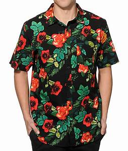Fye Shirt Size Chart Empyre Super Thorn Flower Button Up Shirt Zumiez
