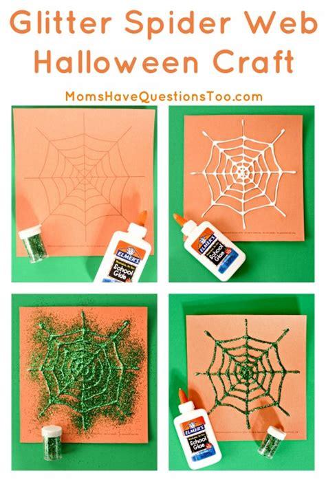 spider web halloween crafts
