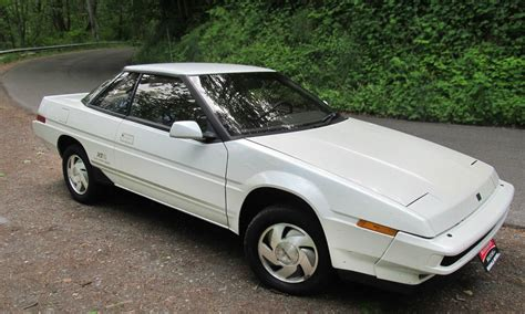 subaru xt weird white wedge 1988 subaru xt6 4wd