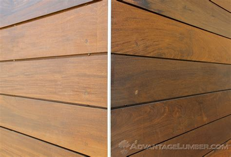 Shiplap Wood Cladding by Advantage Ipe Shiplap Siding Excellence Refined
