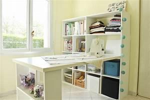 Créer Son Bureau Ikea : comment amenager le coin de couture de ses reves ~ Melissatoandfro.com Idées de Décoration
