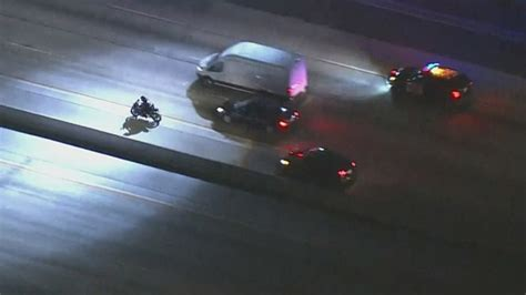 car chase cbs los angeles