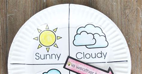 weather chart kid craft weather craft   printable
