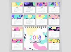 Free 2018 Printable Calendar Calendar 2018