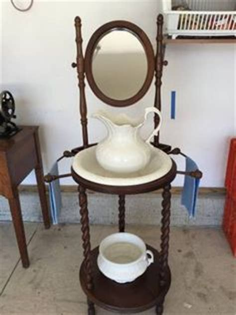 wash stand  pitcher  basinand chamber pot