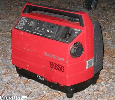 armslist  sale honda  generator hunting