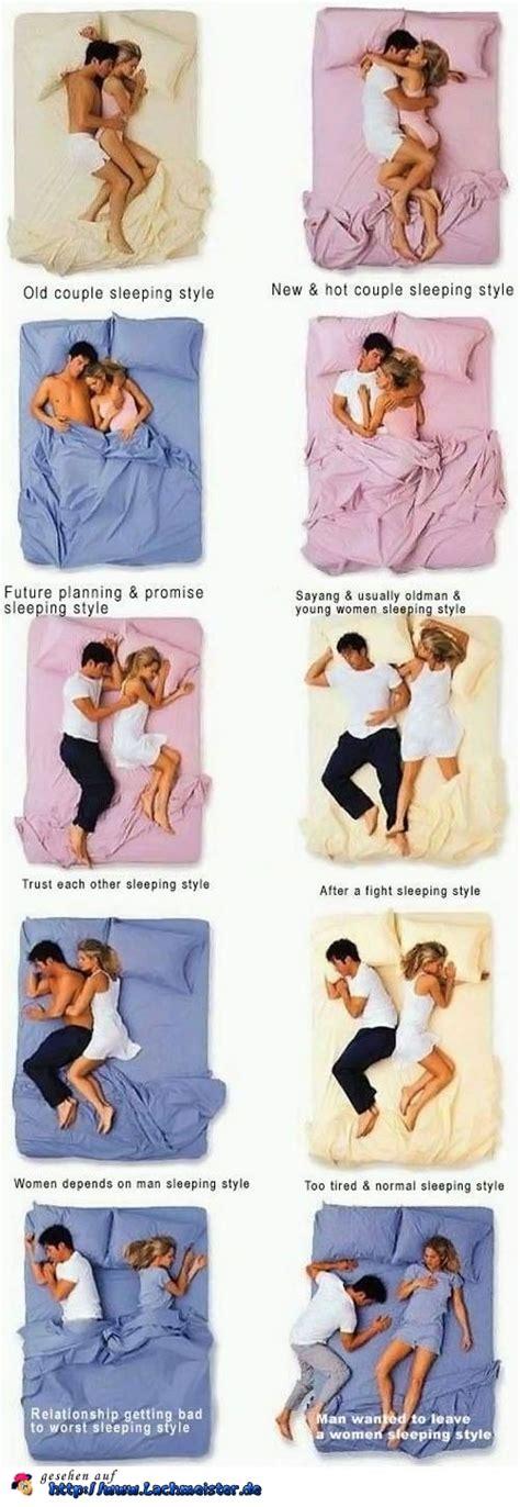 schlafpositionen in der partnerschaft