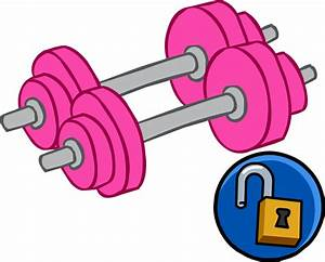 Pink Dumbbells Clipart | www.imgkid.com - The Image Kid ...